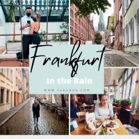 Frankfurt in the Rain